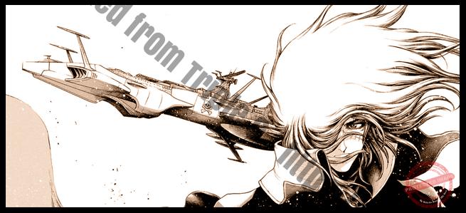 Capitaine Albator ~ Dimension Voyage - Triple 9